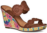 Jack Rogers Livvy Embroidered Wedge Sandals