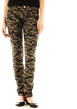 JCPenney Almost Famous Skinny Cargo Pants