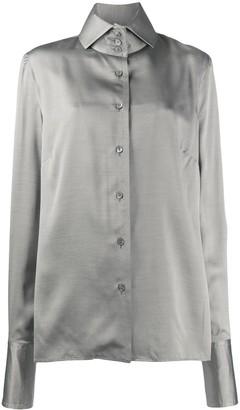 Gianfranco Ferré Pre-Owned Button-Up Silk Shirt