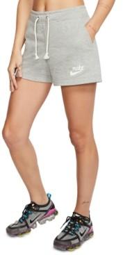 Nike Women's Sportswear Gym Vintage Shorts