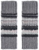 Accessorize Willow Metallic Fairisle Cut Off Gloves