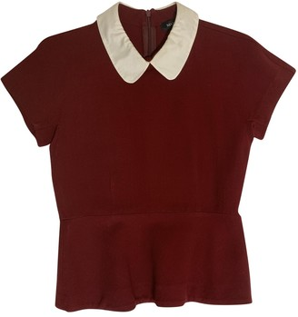 Max & Co. Burgundy Top for Women