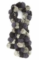 La Fiorentina Women's Genuine Rabbit Fur Scarf