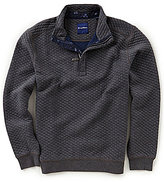 Tommy Bahama Quiltessential Knit Half-Zip Pullover