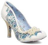 Irregular Choice Women's Pearly Girly Rounded toe High Heels in White