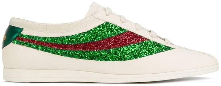 Gucci Falacer sneakers with sequinned Web