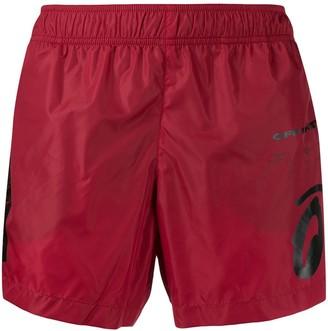 Off-White Printed Swim Shorts