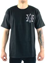 Black Scale Scale Men's Metatron QS16 SS T Shirt L