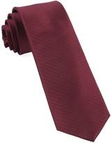 The Tie Bar Burgundy Sound Wave Herringbone Tie