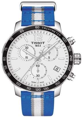 Tissot Men's Quickster Chronograph NBA Dallas Mavericks Watch, 42mm