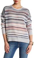 Inhabit Stripe Cashmere Blend Sweater