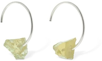 Bjørg Jewellery Crystalline Rainbows Hoop Earrings