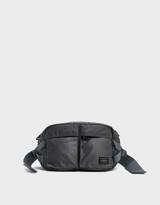 Porter Yoshida & Co. Porter-Yoshida & Co. Tanker 2 Way Waist Bag in Silver Grey