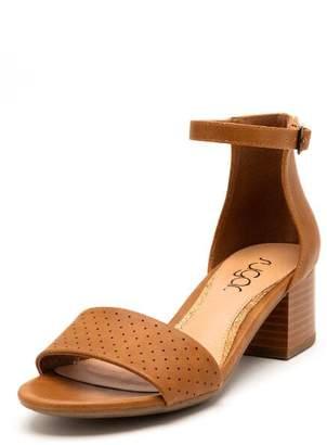 Sugar SugarTM Noelle Strapped Block Heel Sandal - Cognac