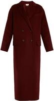 Vanessa Bruno Frisbane double-breasted wool-blend coat