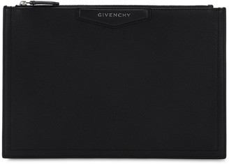 Givenchy Antigona Md Leather Pouch