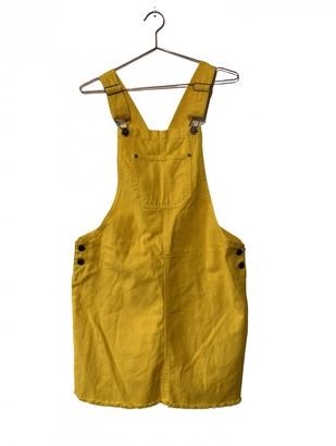 Non Signã© / Unsigned Yellow Denim - Jeans Jumpsuits