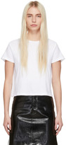 RE/DONE White 1950s Boxy T-Shirt