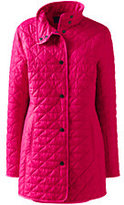 Classic Women's Quilted Primaloft Parka-Brown