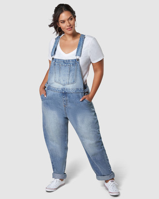 Indigo Tonic - Women's Blue Jumpsuits - Odelia Overalls - Size One Size, 12 at The Iconic