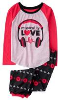 Crazy 8 Musical.ly Love 2-Piece Pajama Set