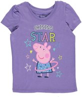 "Nickelodeon Peppa Pig Little Girls' Toddler ""Shining Star"" T-Shirt"