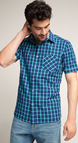 Esprit OUTLET slim fit lightweight check shirt