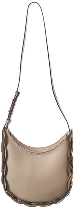 Chloé Darryl Small Smooth Leather Hobo Bag