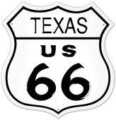 Route 66 Texas Highway Road Tin Sign