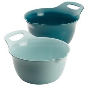 Rachael Ray Tools and Gadgets Nesting 2-Pc. 4-Qt. and 5-Qt. Mixing Bowl Set