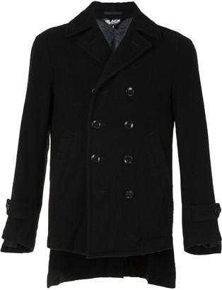Black Comme Des Garçons Double-Breasted Coat