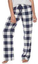 Juniors' SO® Pajamas: Naptime Squad Flannel Pants