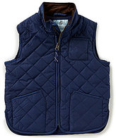 Class Club Little Boys 2T-7 Zip-Front Quilted Vest