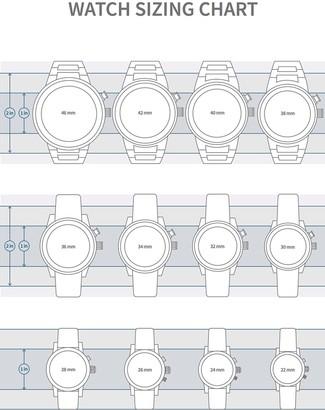 Fossil Women's Kinsley 3-Hand Quartz Crystal Embellished Two-Tone Bracelet Watch, 28mm