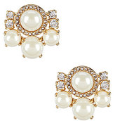 Kate Spade Pearls of Wisdom Cluster Stud Earrings