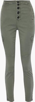 J Brand Brigitte Twill Skinny Pants