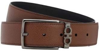 Salvatore Ferragamo 35mm Reversible Leather Belt