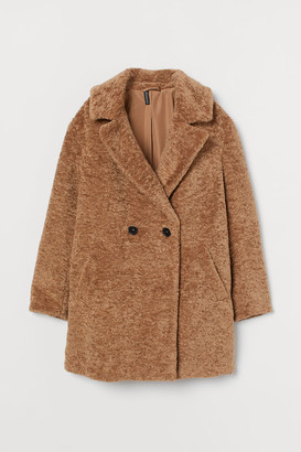 H&M Teddy Bear Coat - Beige