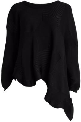 Issey Miyake Kone Kone Asymmetric Knit Sweater