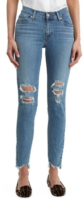 Levi's Women's Curvy Mid-Rise Skinny Jeans