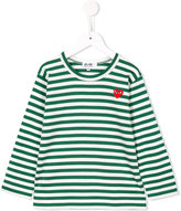 Comme Des Garçons Play Kids striped longsleeved T-shirt