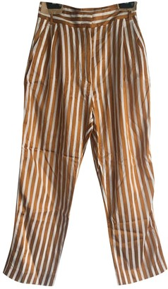 Max & Co. Gold Trousers for Women