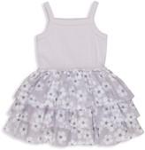 Huxbaby Little Girl's Wilderness Summer Ballet Tutu Floral Dress