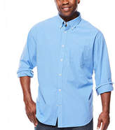 THE FOUNDRY SUPPLY CO. The Foundry Big & Tall Supply Co. Long-Sleeve Poplin Shirt