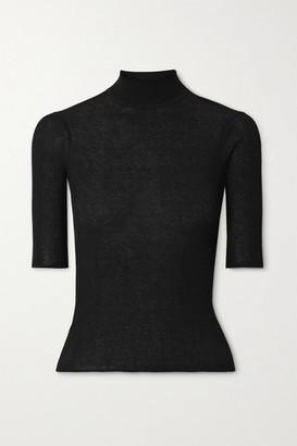 ATM Anthony Thomas Melillo Ribbed-knit Top