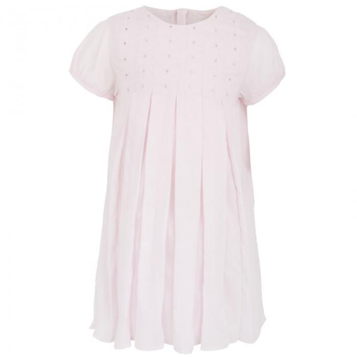 Chloe Pink Pleat Dress