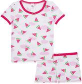 Esme Watermelon-Print Cotton-Blend Pajama Set