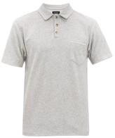 Howlin' - Mr Fantasy Terry Cotton-blend Polo Shirt - Mens - Grey