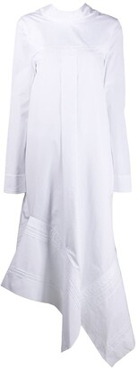 Jil Sander Asymmetric Long Shirt Dress