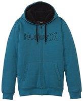 Hurley Men's One & Only Herringbone Zip Fleece Hoodie 8123206